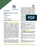 Economia Politica Da Regulacao 2009