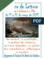 Cartaz Da Semana Da Leitura 2013