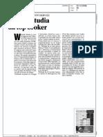 Webank studia da top broker (MilanoFinanza, 02/12/2008)