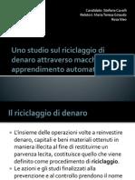 Uno Studio Sul Riciclaggio Di Denaro Attraverso Macchine (beta version)