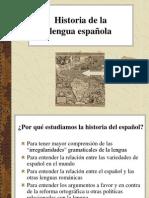 HistoriadelaLenguaEspañola