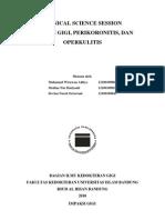 CSS Impaksi Gigi, Perikoronitis, Dan Operkulitis