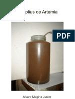 Nauplius de Artemia