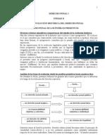 Apuntes Derecho Penal I Parte General (((EVOLUCION HISTORICA)))
