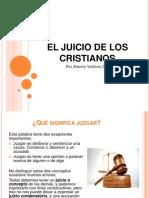 El Juicio de Los Cristianos