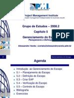 PMIPE - Cap.5 Escopo
