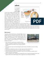 Geothermal Gradient