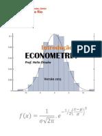 Apostila Econometria 2013