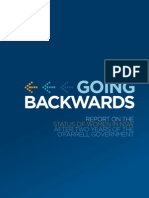 Report Card - Going Backwards