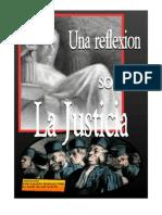 Una Reflexion Sobre La Justicia