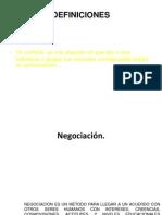 Negociación y Resolución de ConflictosTALLERMATRIZ