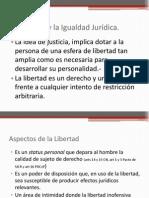 Libertad y La Igualdad Juridica