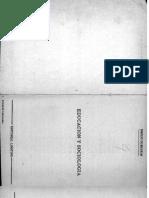DURKHEIM- Educacion y Sociologia Prologo Cap 1 y 2