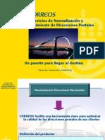 Normalizacion de Direcciones Presentacion Clientes