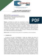 ASPECTOS HISTÓRICOS REFERENTES À PRIMEIRA LEI DA TERMODINÂMICA