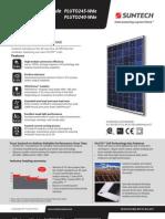 Modulo Fotovoltaico Suntech 240w
