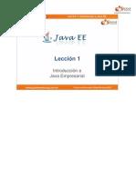 Curso Java EE - 01 Leccion 01 - Teoria