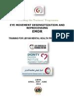 Emdr Training Course Libya 2013 Dignity Lfr Ncdc Mmdc