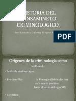 Historia Del Pensamineto Criminologico