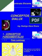 conceptos fundamentales dialux