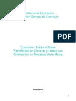 Curriculum BachOMecánicaA