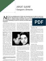 11. InFocus03. Nick Cave. El Canguro Errante
