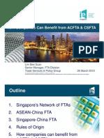 20100326 Seminar - Singapore FTAs With China