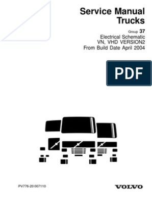 Volvo 2004 Wiring Diagrams | Truck | Transmission (Mechanics)