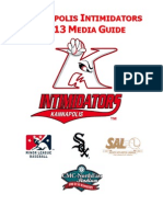 Intimidators 2013 Media Guide