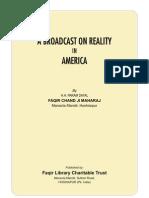 A Broadcast on Reality