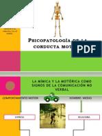 Psicopatologia de La Conducta Motora