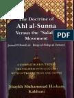 The doctrine of Ahla'l-Sunna vs The Salafist Movement [English]