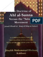 The doctrine of Ahla'l-Sunna vs The Salafist Movement [English]
