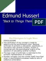 Ed Husserl