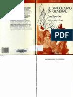 119815897 Sperber Dan 1988 El Simbolismo en General Barcelona Anthropos Editorial 187 p