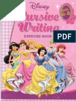 Disney Princess Cursive Writing