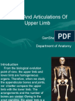 3rd-Bones and Articulartions of the Upper Limb (New File)
