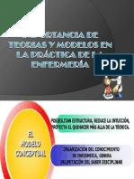 IMPORTANCIA DE TEORIAS Y MODELOS EN LA PRÁCTICA