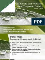 Penyusunan Master Plan Air Limbah Sistem Offsite
