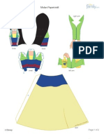 Mulan Papercraft Printable 0210