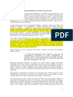 o Regime Republicano No Brasil