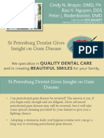 St Petersburg Dentist Gives Insight on Gum Disease