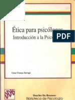 ética para psicólogos cap 1