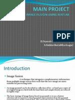 Image Fusion Using MatlabIMAGE FUSION USING MATLAB