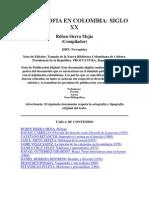 La filosofía en Colombia Sg XX-R. Sierra Mejía