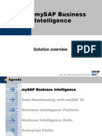 SAP MySAP BI Solution