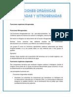 Funciones orgánicas nitrogenadas