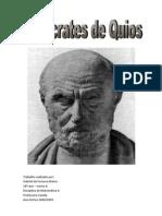 Hipócrates de Quíos - trabalho realizado por Gabriel Matos