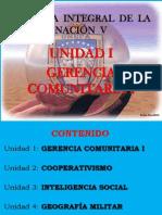 Gerencia Comunitaria - Clase 1-2