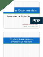 detectores radiacao